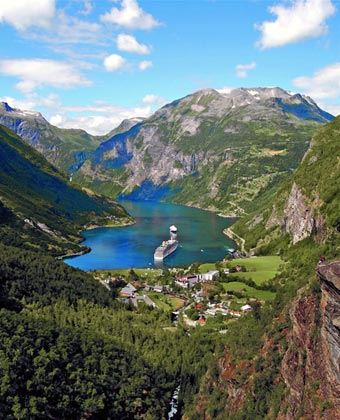 Cruise the Norway Fjords