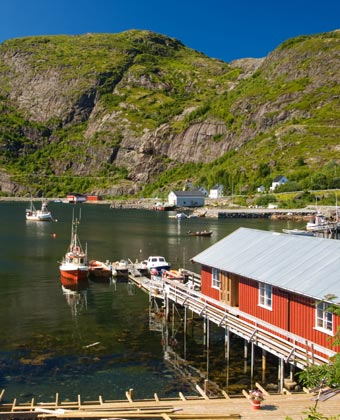 Norway coastal scene