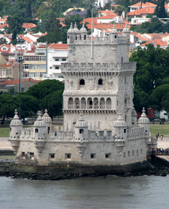 Cruise past the Belem Tower in Lisbon