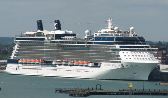 Celebrity Eclipse at Southampton