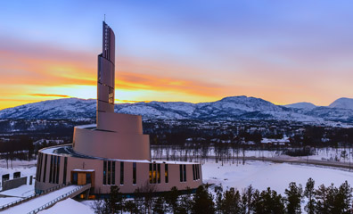 Alta Northern Lights Cathedral