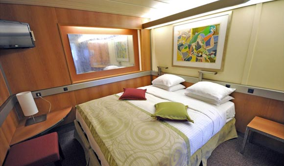 Inside cabin on Magellan