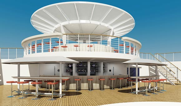 Lido Bar, Columbus Deck