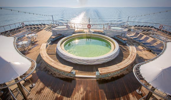 Lido Pool, Columbus Deck