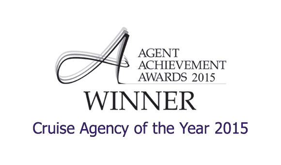 Cruise Agent Achievement Awards - Winner Cruise Agency of the Year 2015