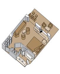Zuiderdam Deluxe Verandah Suite