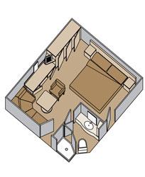 Zuiderdam Inside Suite