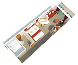 Ventura Superior Deluxe Balcony Cabin